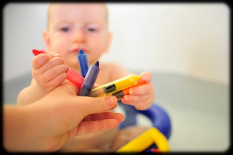 bath crayons for babies