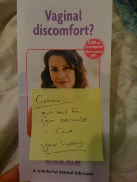 vaginal discomfort leaflet