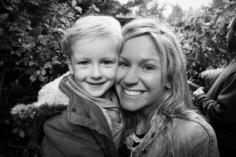Blake loves his Auntie Kate