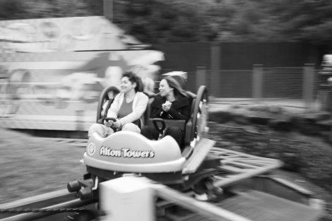 The sonic ride. Super fast!